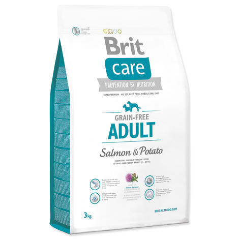 Granule BRIT Care Grain-Free Adult Salmon & Potato - 1