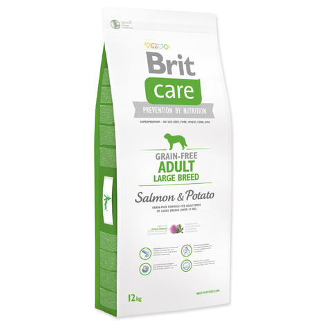 Granule BRIT Care Grain-Free Adult Large Breed Salmon&Potato 12kg
