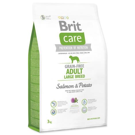 Granule BRIT Care Grain-Free Adult Large Breed Salmon&Potato 3kg