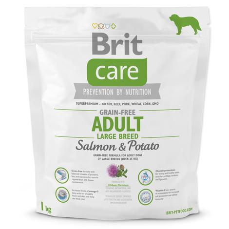 Granule BRIT Care Grain-Free Adult Large Breed Salmon&Potato 1kg