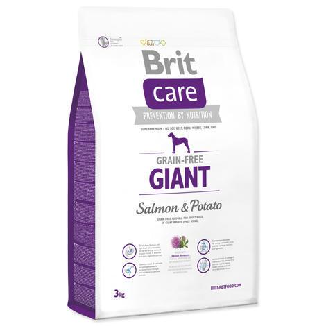 Granule BRIT Care Grain-Free Giant Salmon&Potato 3kg