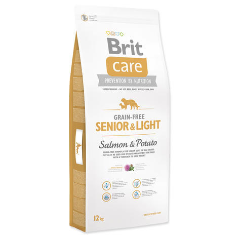 Granule BRIT Care Grain-Free Senior & Light Salmon & Potato - 1