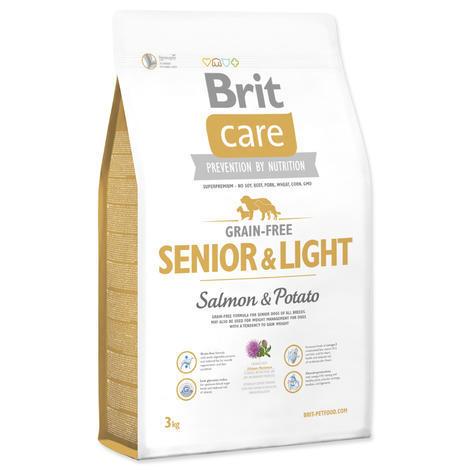 Granule BRIT Care Grain-Free Senior & Light Salmon & Potato 3kg