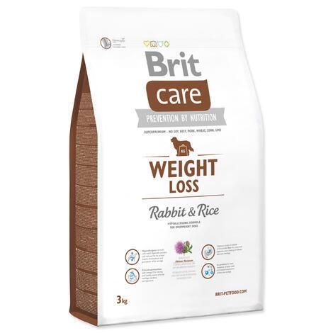 Granule BRIT Care Weight Loss Rabbit & Rice 3kg
