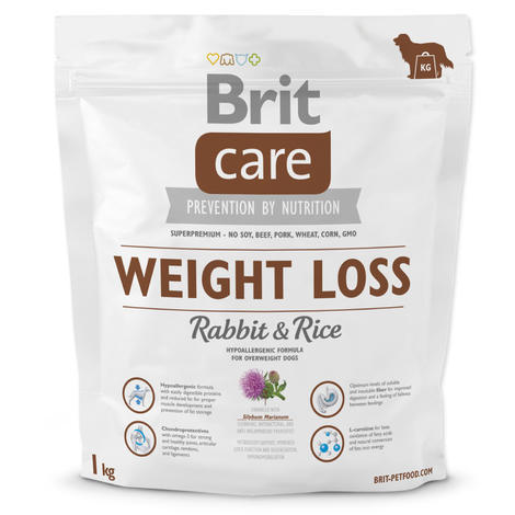 Granule BRIT Care Weight Loss Rabbit & Rice 1kg