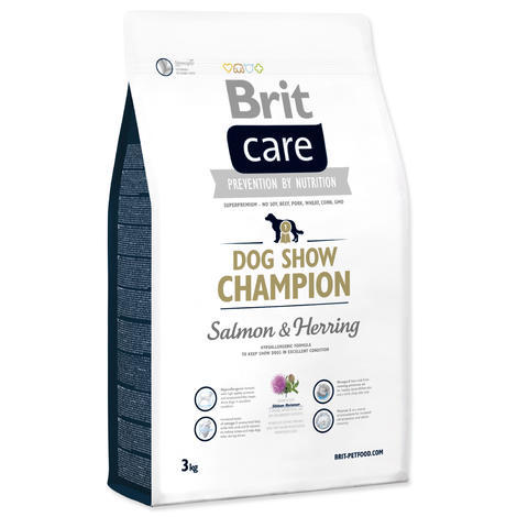Granule BRIT Care Dog Show Champion Salmon & Herring 3kg