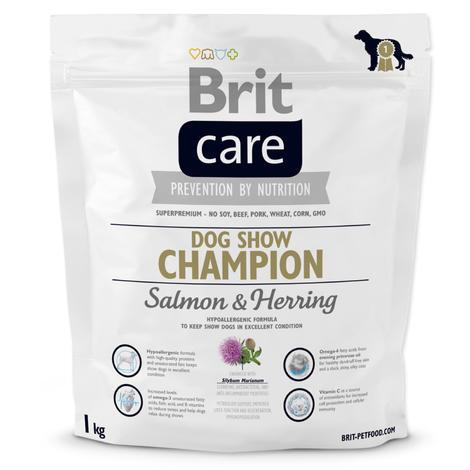 Granule BRIT Care Dog Show Champion Salmon & Herring 1kg