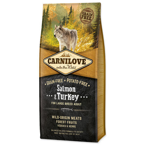 Granule CARNILOVE Salmon & Turkey for Large Breed Adult