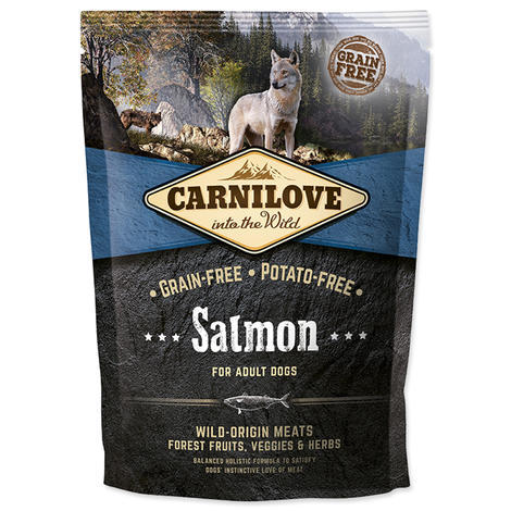 Granule CARNILOVE Salmon for Adult 1,5kg