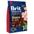 BRIT Premium by Nature Adult L 3kg - 1/3