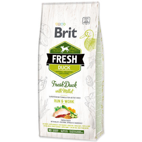 BRIT Fresh Duck with Millet Active Run & Work - 1