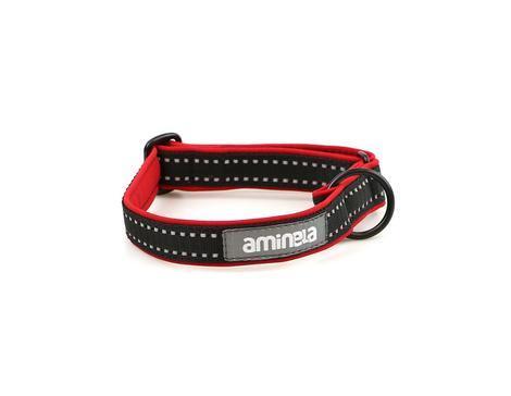 Aminela klasik obojek Sport & City 35-70cm, červená/černá