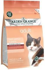 Granule Arden Grange Adult Cat: fresh salmon & potato - grain free 8kg