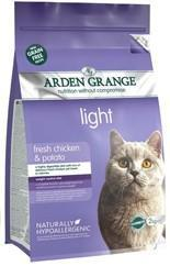 Granule Arden Grange Adult Cat: light fresh chicken & potato - grain free