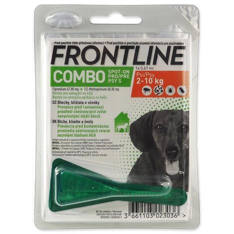 FRONTLINE Combo Spot-On Dog S 0,67ml