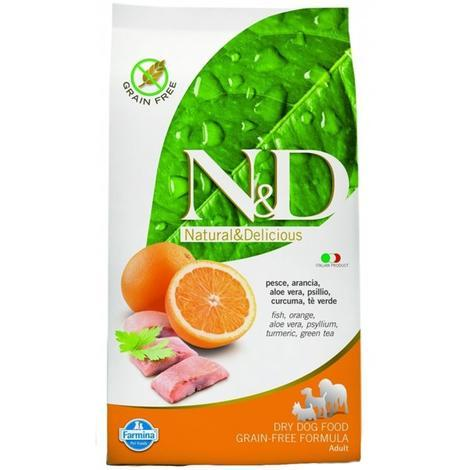 N&D Grain Free DOG Adult Maxi Fish & Orange  12kg