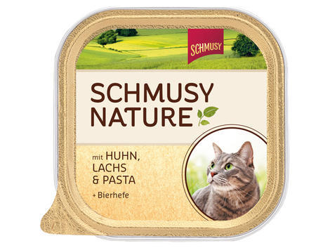 Vanička Schmusy kuře + losos 100g