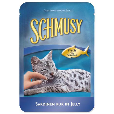 Kapsička SCHMUSY Fish tuňák + sardinky 100g