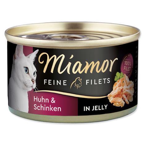 Konzerva MIAMOR Filet kuře + šunka 100g