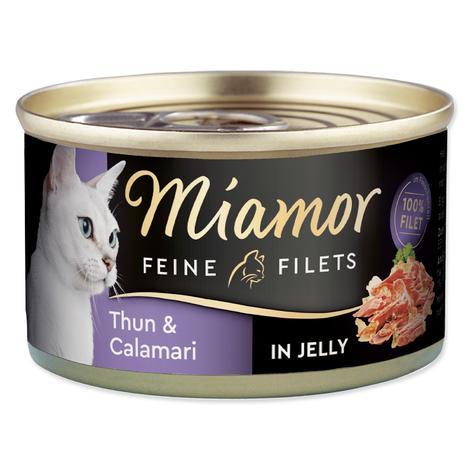 Konzerva MIAMOR Filet tuňák + kalamáry 100g