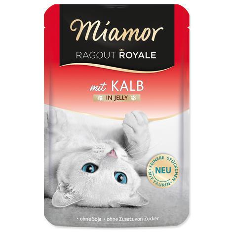 Kapsička MIAMOR Ragout Royale telecí v želé 100g