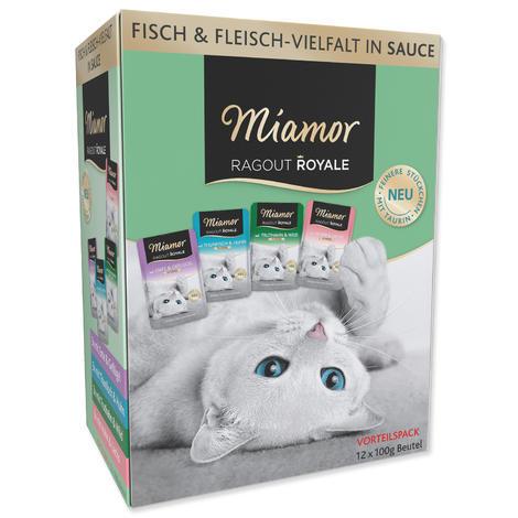 Kapsičky MIAMOR Ragout Royale multipack ve šťávě 1200g