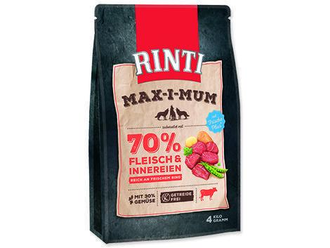 RINTI MAX-I-MUM hovězí 4kg