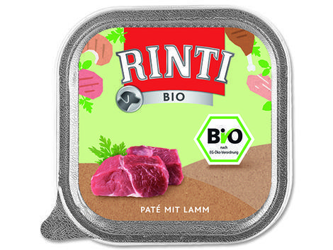 Vanička RINTI Bio jehně 150g