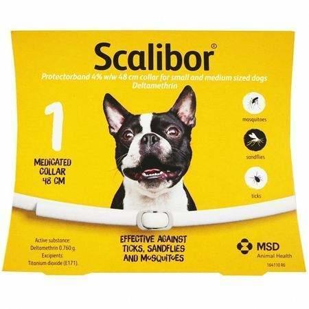 Scalibor Protectorband antipar.obojek pes 48cm