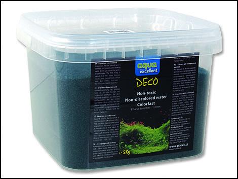 Písek AQUA EXCELENT zelený smaragdový 5kg !! POUZE OSOBNÍ ODBĚR !!
