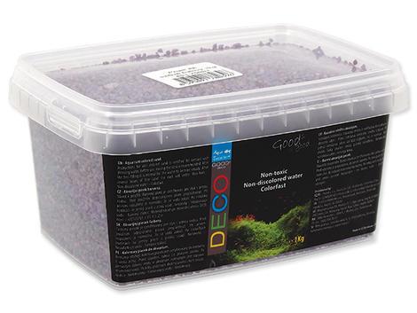 Písek AQUA EXCELLENT svítivě fialový !! POUZE OSOBNÍ ODBĚR !! 1kg