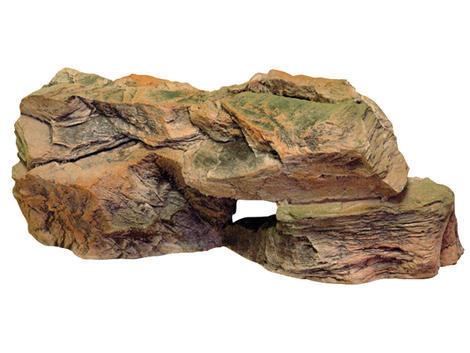 Dekorace AQUA EXCELENT skalka 43 x 18 x 19 cm
