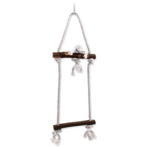 Žebřík BIRD JEWEL provazový + dřevěné příčky 50 cm