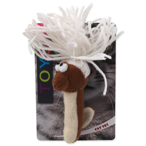 Hračka MAGIC CAT červík bavlněný plyšový mix 13,75 cm 1ks