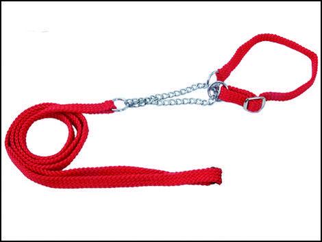 Komplet DOG FANTASY Show červený  120 x 1 cm
