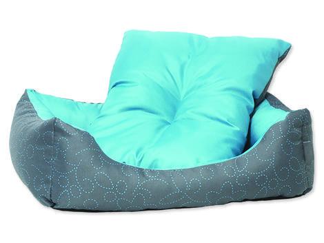 Sofa DOG FANTASY květy modré 63 cm