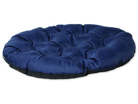 Polštář DOG FANTASY Basic tmavě modrý  65 cm