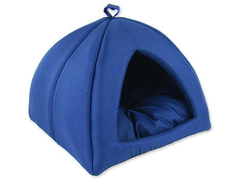 Kukaň DOG FANTASY Basic tmavě modrá  62 cm