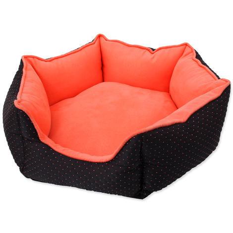 Pelech DOG FANTASY černo-oranžový  45 cm