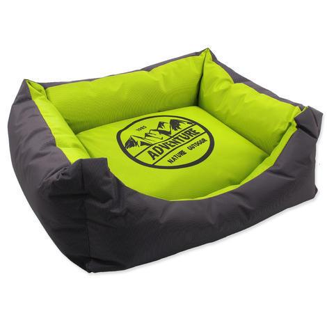 Pelech DOG FANTASY Adventure zeleno-šedivý  50 cm
