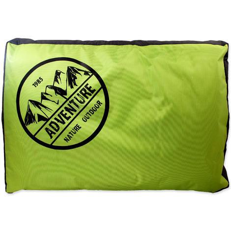 Matrace DOG FANTASY Adventure zeleno-šedivá  100 cm