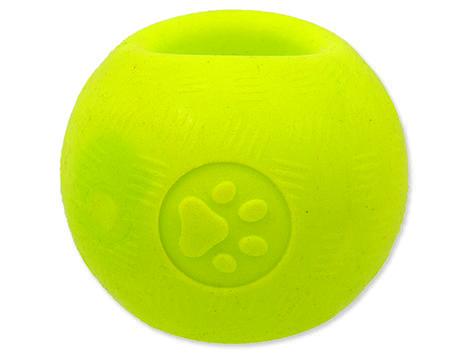 Hračka DOG FANTASY Strong Foamed míček guma 9,5 cm 1ks