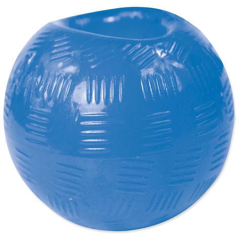 Hračka DOG FANTASY míček gumový modrý 6,3 cm 1ks