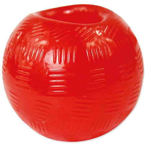Hračka DOG FANTASY míček gumový červený 6,3 cm 1ks