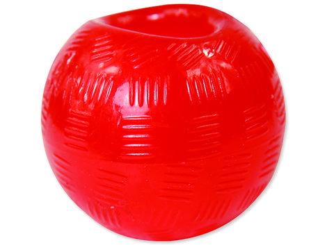 Hračka DOG FANTASY míček gumový červený 8,9 cm 1ks