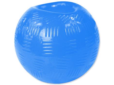Hračka DOG FANTASY míček gumový modrý 9,5 cm 1ks