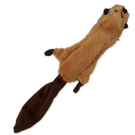 Hračka DOG FANTASY Skinneeez bobr 1ks