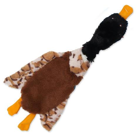 Hračka DOG FANTASY Skinneeez šustící pták 1ks