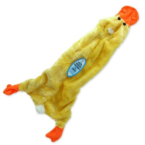 Hračka DOG FANTASY Skinneeez návlek na láhev kachna 1ks