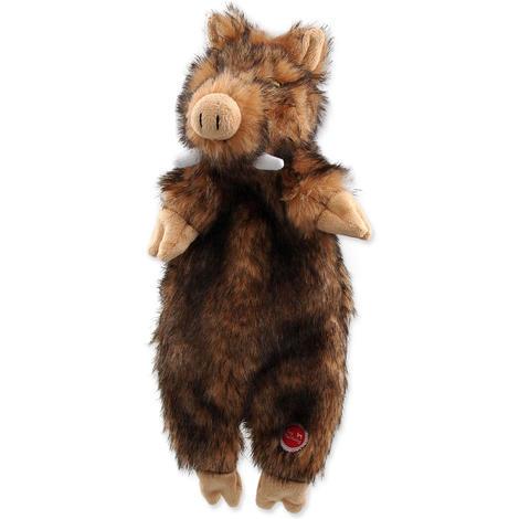 Hračka DOG FANTASY Skinneeez divočák plyšový  34cm